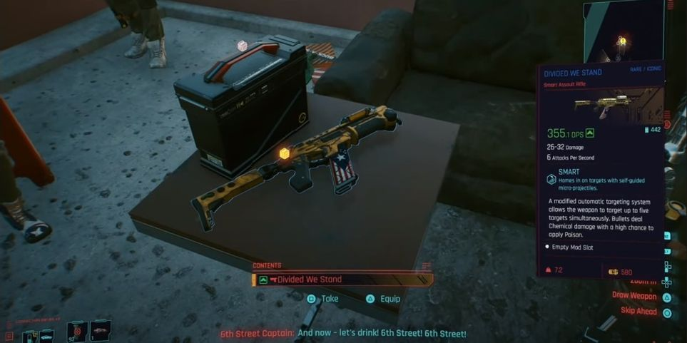 Cyberpunk 2077 Stand On Table