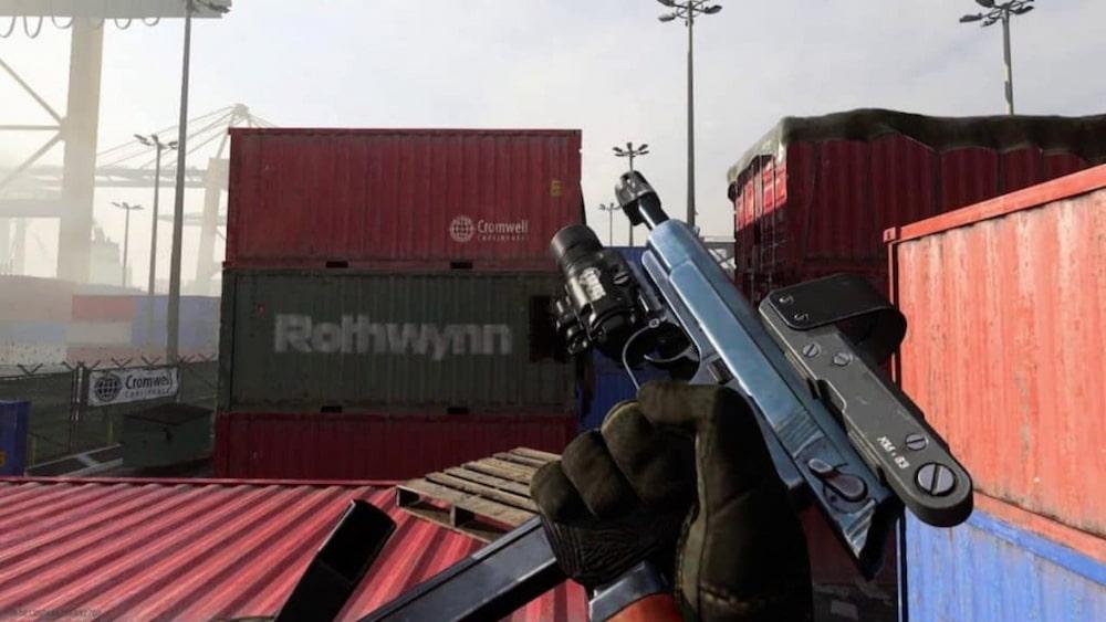 Pistola Sykov em Warzone