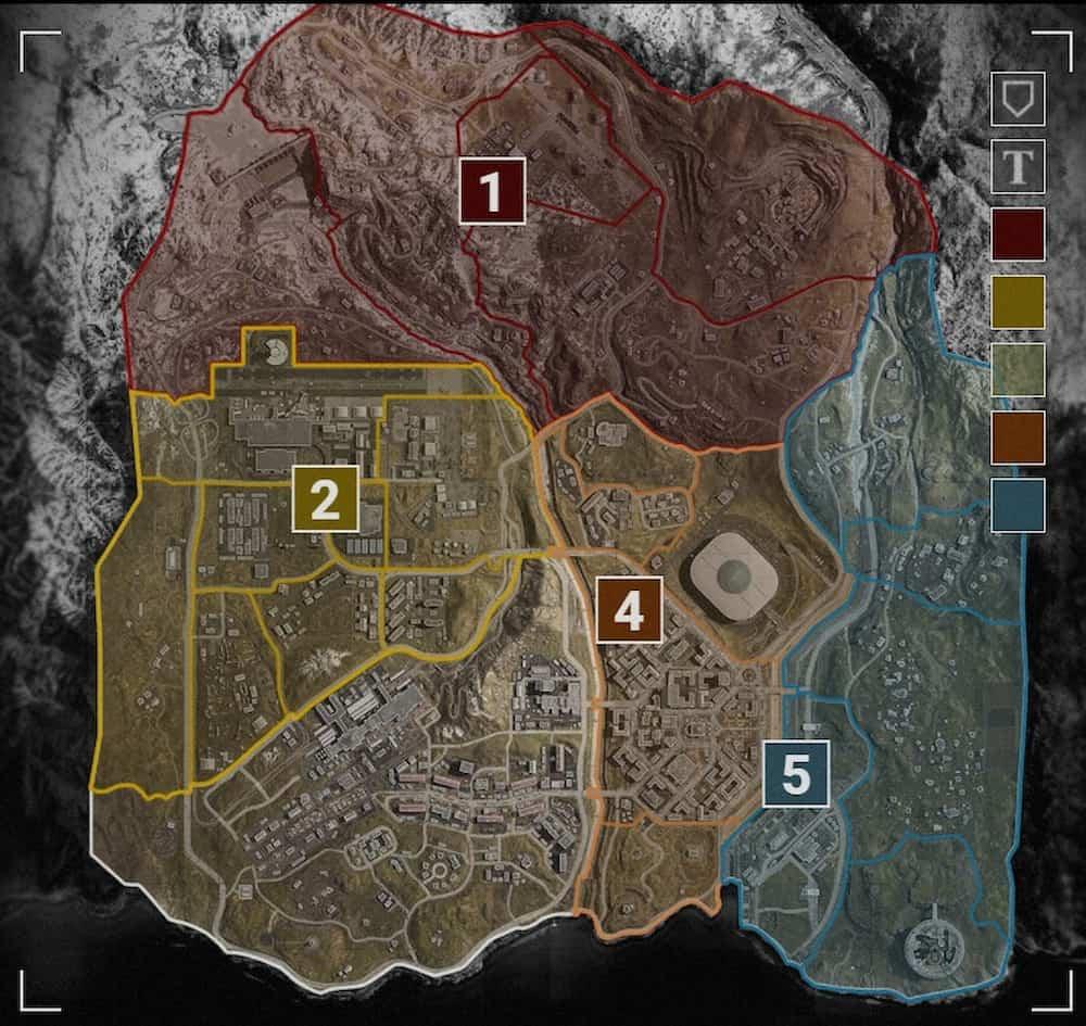 mapa call of duty warzone verdansk
