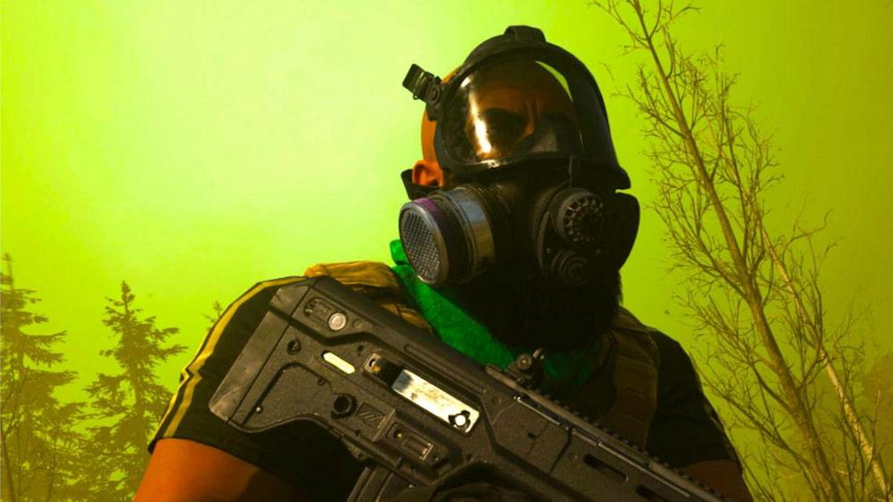 mascara gas call of duty warzone