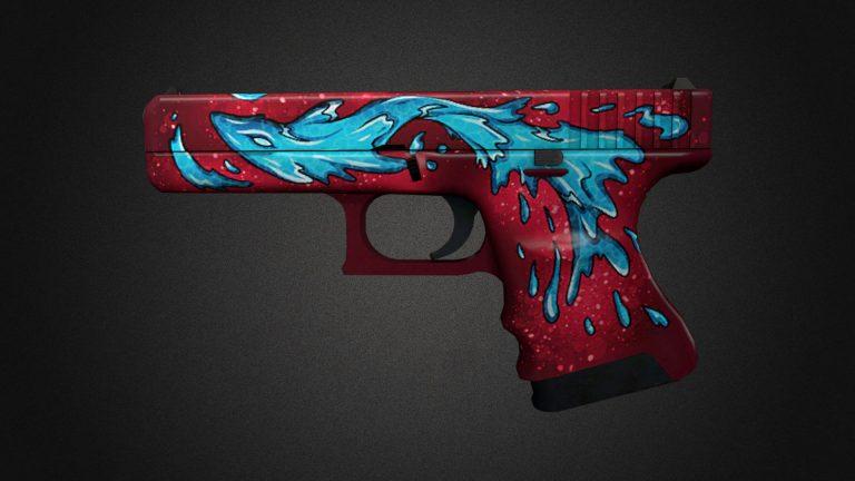 csgo skins water elemental glock
