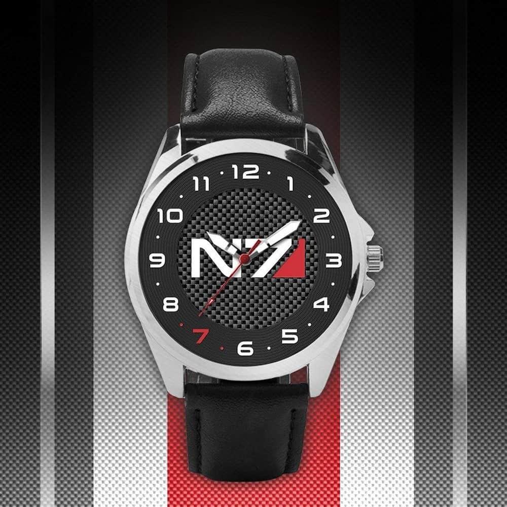 Relógio Mass Effect N7
