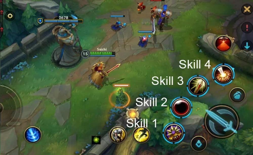 wild rift leona skills